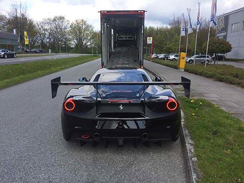 доставка авто из Германии закрытым автовозом